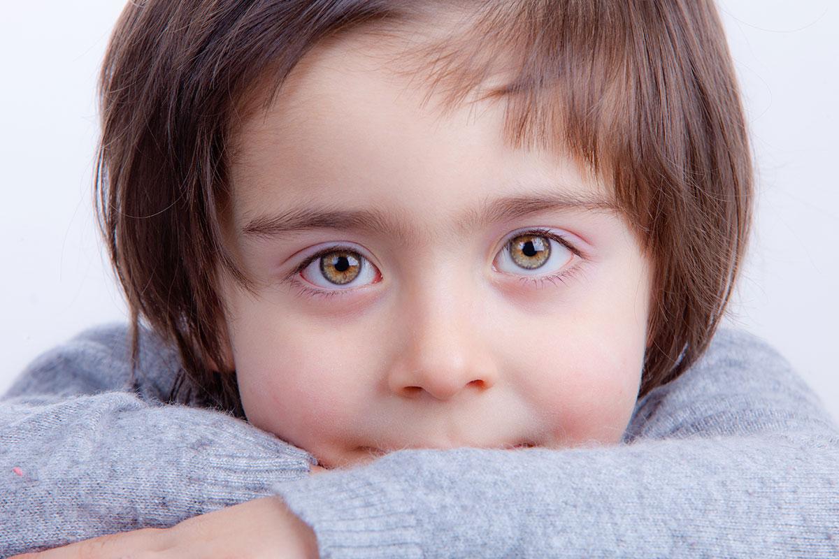 bambina foto studio Aida, ritratto in studio