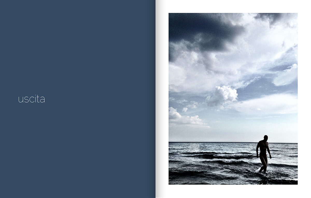 iPhoneography Siamo solo di pass(A/E)ggio progetto fotografico Michele Ruffaldi Santori Mare Spiaggia