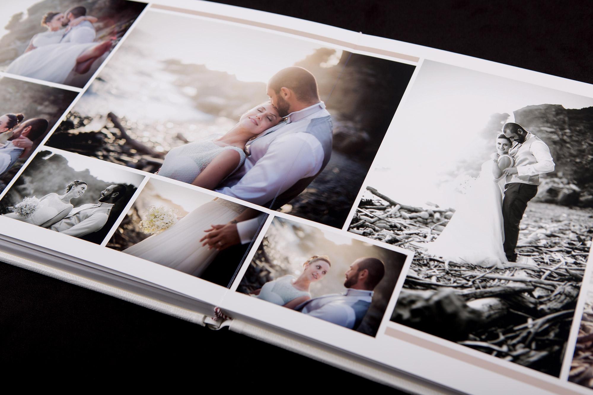 Album libro matrimonio impaginazione fotolibro stampare fotografie